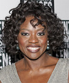 Viola Davis - Medium Curly hairstyle